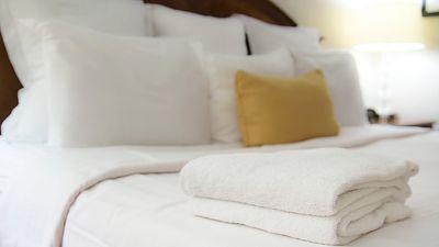 Das Handtuch ist Liebling der Hoteldiebe. Kein Wunder: Es ist schließlich so ziemlich das Nützlichste, was man auf Reisen mitnehmen kann.