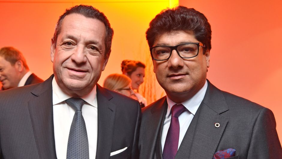 Hamed El Chiaty (Travco Group International), Puneet Chhatwal (Steigenberger Hotel Group) (v.l.).