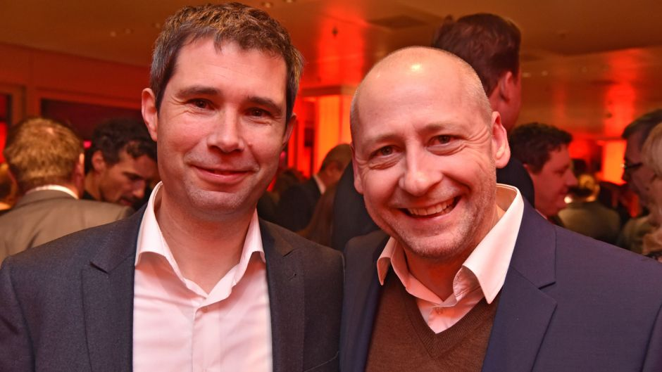 Olaf Rose (Edreams Odigeo) und Boris Raoul (Ex-Unister-Travel-Chef) (v.l.).