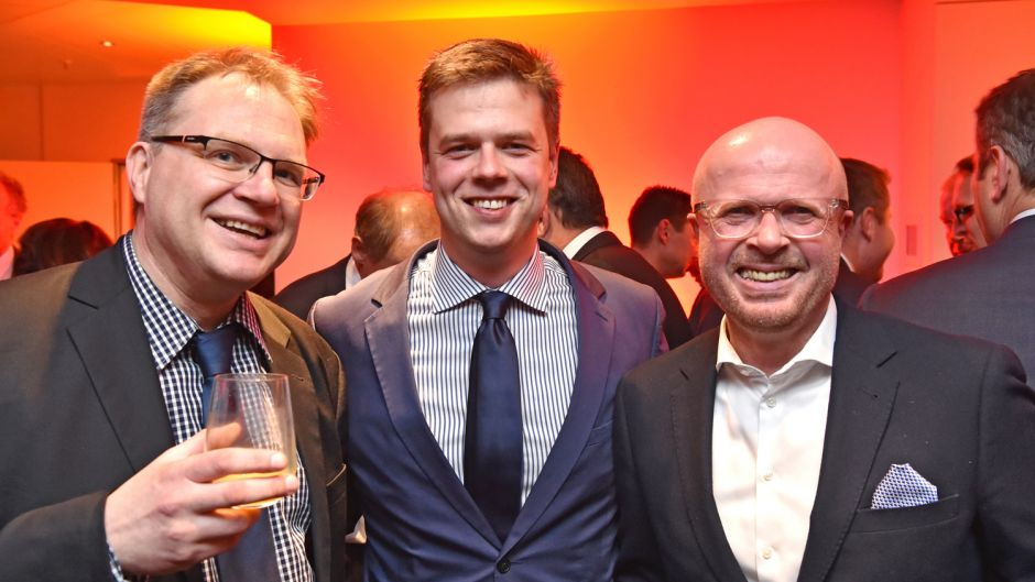 Oliver Graue (FVW Medien), Manuel Kliese (Innovation Norway) und Dirk Bremer (Travel Industry Club) (v.l.).