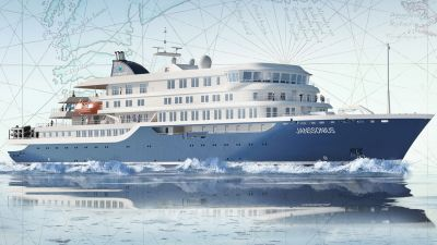 Die Janssonius wird voraussichtlich im Oktober 2021 in Dienst gestellt. Sie gehört zu Oceanwide Expeditions und ist ein Schwesterschiff des aktuellen Neubaus Hondius. Beide Schiffe verfügen über die höchste Polarklasse und bieten bis zu 174 Passagieren Platz.