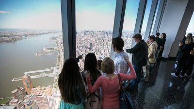 Gute Aussichten: Vom Mitte 2015 eröffneten One World Observatory hat man einen Top-Blick über New York City.