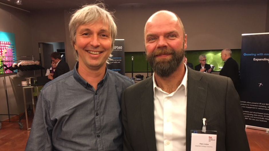 Jens Muskewitz (Traffics) und Pete Lindow (Greenfield Strategy Consulting)