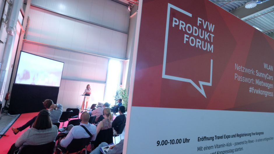 The fvw product forum took place on both Kongress days.