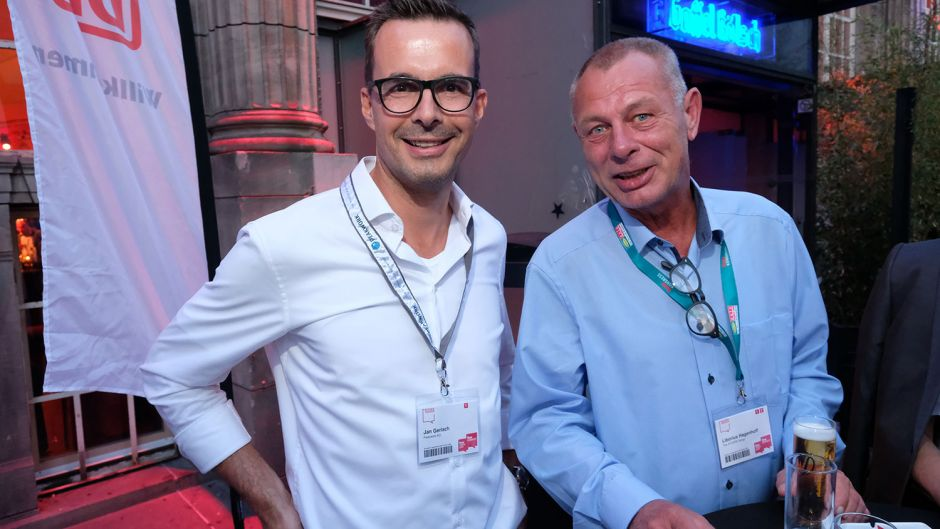 Jan Gerlach (Peakwork, left) and Liborius Hagenhoff (Atcore Technology)
