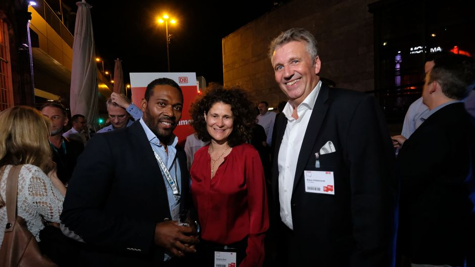 From left: Jorge Gonzaga (Peakwork), Stefanie Berk (Thomas Cook) and Klaus Hildebrandt (fvw)