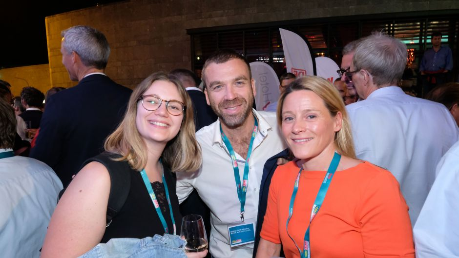 From left: Laurie Bach (Worldia), Erwan Corre (Worldia) and Marion Gigl (TUI Suisse)