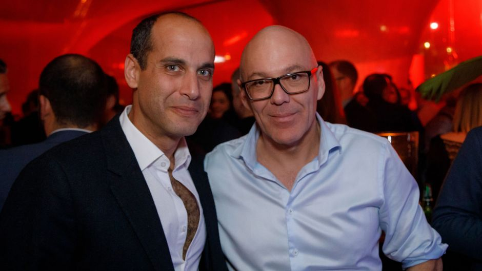 Marcos Rossello (Sundair) und Hassan Nashaat (IAB Group).