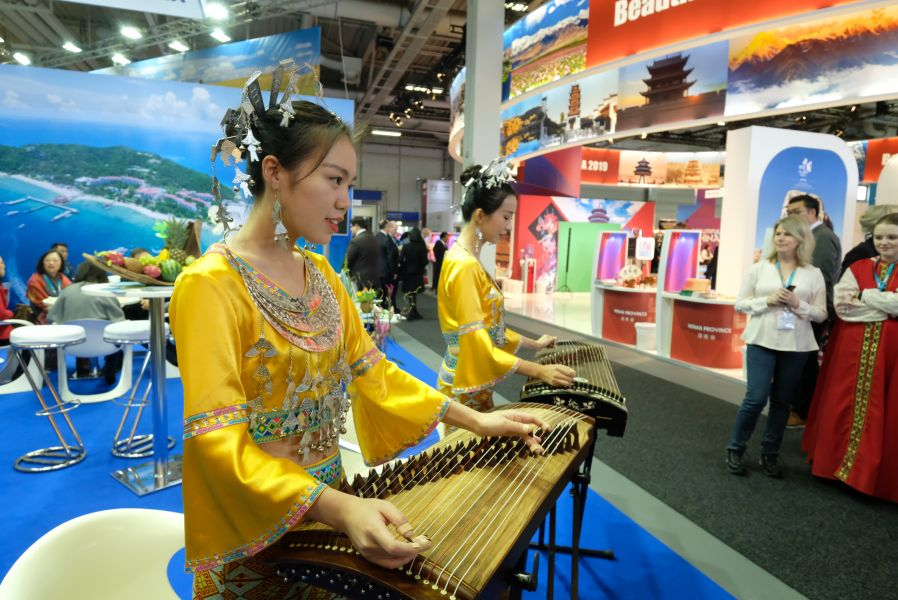 China strikes a chord with this musical performance.