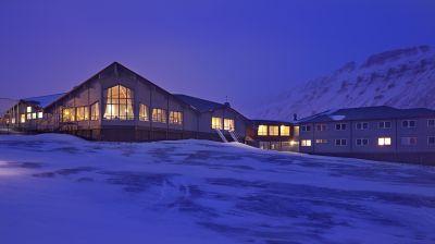 Das Radisson Blu Polar Hotel Spitzbergen gilt als nördlichstes Hotel der Welt.