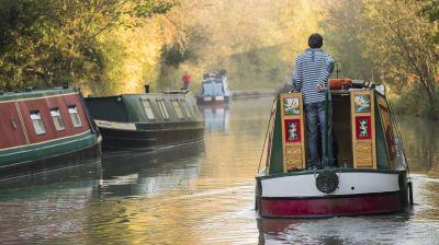 """700 Kilometer lang ist das Wasserwege-Netz, das zum Projekt """"England's Waterways"""" gehört."""