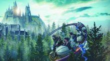 Neue Achterbahn für Harry-Potter-Fans: Hagrid's Magical Creatures Motorbike Adventure in den Universal Studios Orlando.
