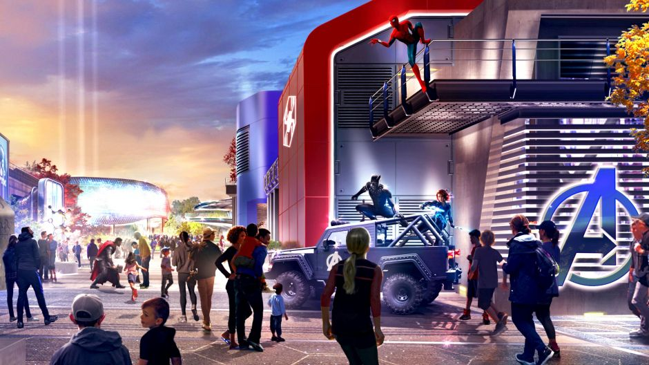 Marvel-Themenland im Disneyland Paris