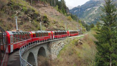 Der Bernina Express.