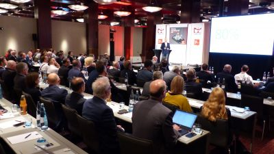 The one-day event at the Dorint Hotel in Cologne on May 7 attracted 150 participants.