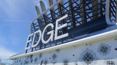 Die Celebrity Edge ist das erste Schiff der gleichnamigen Klasse für Celebriy Cruises.