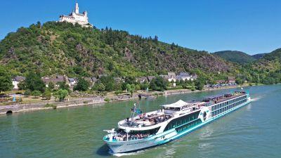 Die Anna Katharina ist ein Neubau der Scylla AG und ergänzt die Flotte von Phoenix Reisen.
