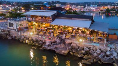 Hotspot zum Tanzen, aber auch zum Dinieren: das Pier 1 in Montego Bay.
