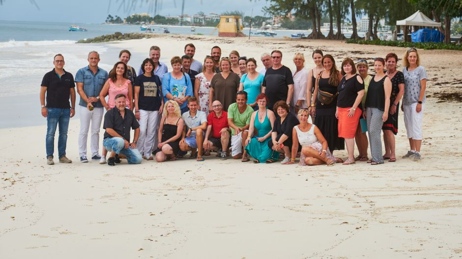 The German travel agents spent a week on Barbados.
