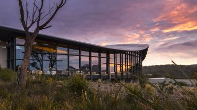 Das Saffire Freycinet in Australien liegt inmitten spektakulärer Natur, dem Freycinet National Park in Tasmanien.