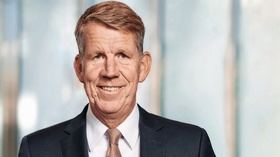 2: TUI boss Fritz Joussen ($5.3m) was ranked second for 2018.