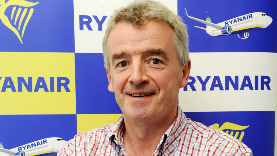 8. Michael O'Leary cut his salary by nearly a third but still earned $2.6 million last year.