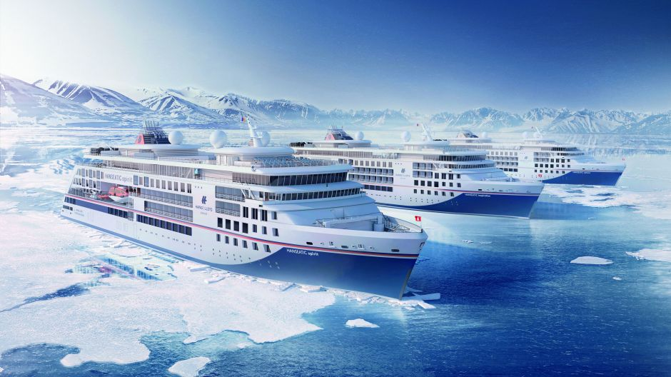 Cool ships for exotic climates. The three new luxury liners from Hapag-Lloyd Cruises offer space for up to 240 guests on their trips to polar regions and to warmer regions such as the Amazon.