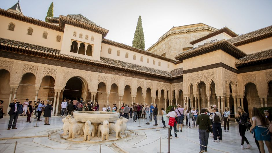 A visit to the Alhambra in Granada was an absolute highlight for many participants.