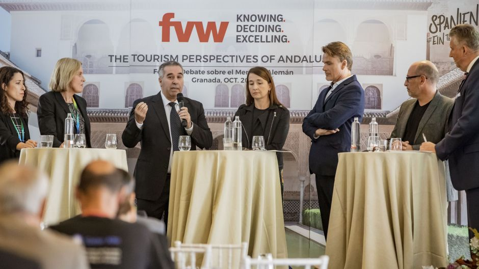 Tour operators discuss Andalusia's potential at the fvw workshop