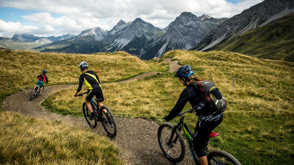 Steering to new target groups: the Hörnli-Trail for mountain-bikers.