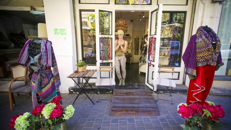 Arabischer Lifestyle: Mode-Boutique in der alten Hafenstadt Jaffa.