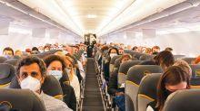 Auf dem Weg nach Fuerteventura: 100 Reisebüro-Mitarbeiter aus ganz Deutschland waren beim ersten Flug nach dem Stillstand dabei. 700 Expedienten hatten sich beworben.
