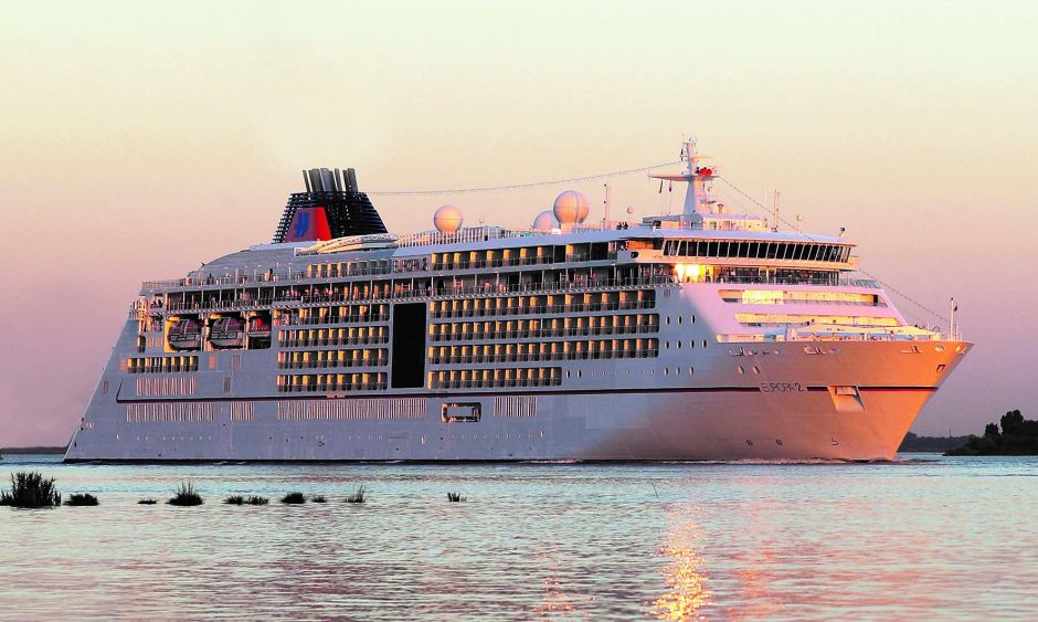 Comeback for Hapag-Lloyd Cruises: Luxury line Europa 2 took 100 travel agents on a short cruise.
