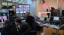 Für den ersten digitalen fvw Kongress wurde ein TV-Studio aufgebaut.
