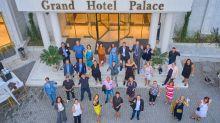 Drei Tage wohnte die Workshop-Gruppe im Grand Hotel Palace in Thessaloniki.