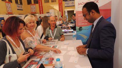 Willkommen in El Gouna! Beim Destination Pro in Ägypten veranstaltete FTI einen Workshop- und Reisemesse-Tag.