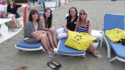 Nach der Ankunft im Masmavi-Club am Freitagabend geht es zum Get Together an den hoteleigenen Strand…