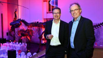 Derpart-Geschäftsführer Aquilin Schömig (l.) und Andreas Neumann.