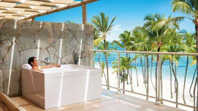 Flaggschiff: Das Barceló Bávaro Resort in der Dominikanischen Republik war das erste Hotel der Familie Barceló in der Karibik.