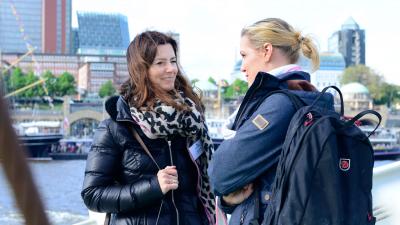 Küstenerprobt: Carina Brandt und Manuela Schubert vom Reisebüro Fahrenkrog in Kiel.