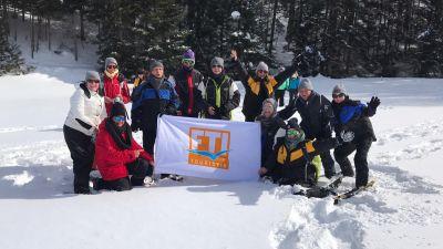 48 Reiseprofis beim FTI Destination Pro Québec: Den Winter in Kanada durch Winteraktivitäten erlebbar zu machen war das Ziel des Fam Trip von FTI und lokalen Partnern. Vortouren führten in die Regionen Laurentinische Berge, Authentic Québec, Saguenay-Lac-Saint-Jean, Charlevoix und Québec City – bevor man sich zum Workshop in Montreal traf.