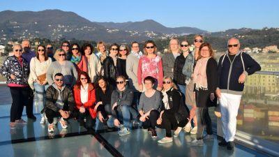 Exklusive Gewinner: Aus mehr als 600 Bewerbern wurde diese Gruppe für die TravelTalk Experience mit Costa Kreuzfahrten gezogen.
