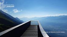 Positiv in die Zukunft blicken - das drückt das Lieblingsfoto von der Reiseberaterin Andrea Meidel aus, entstanden auf dem Perspektivenweg bei Innsbruck.