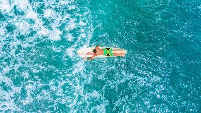 Surfing bei Port Antonio