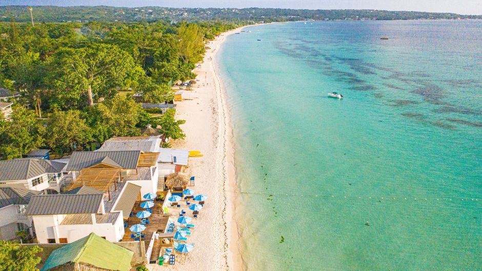 Seven Mile Beach bei Negril