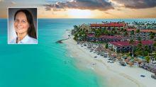 """Ganz oben auf der Wunschliste von Kerstin Müller, Reisebüro Briotours in Wittingen, stehen Aruba oder Curaçao. """"Als es noch kein Internet gab, habe ich für einen Kunden eine Reise dorthin ausgearbeitet. Seitdem träume ich von den Sandstränden und den bunten Häusern."""""""