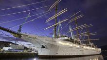 Die Sea Cloud Spirit hat eine wechselvolle Geschichte hinter sich. Derzeit wird sie in einer spanischen Werft in Vigo fertiggestellt.