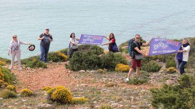 Das Aktionsbündnis Rettet die Reisebranche hatte die Reise initiiert.