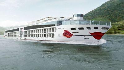 Das E-Motion-Ship von Arosa Flussschiff erhält den Namen Arosa Sena.