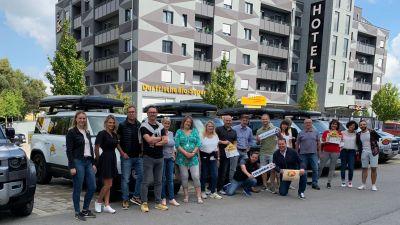 Bitte einmal alle herzlich lächeln: Mice-Planer hatten die Gelegenheit, die Vorzüge Südtirols als Kongress- und Tagungsort kennenzulerrnen.